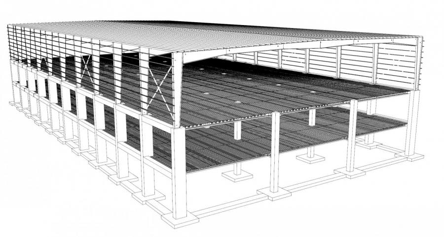 SAYPOST-BEAM Teknolojimiz ile yeni bir fabrika için imalatımız başladı