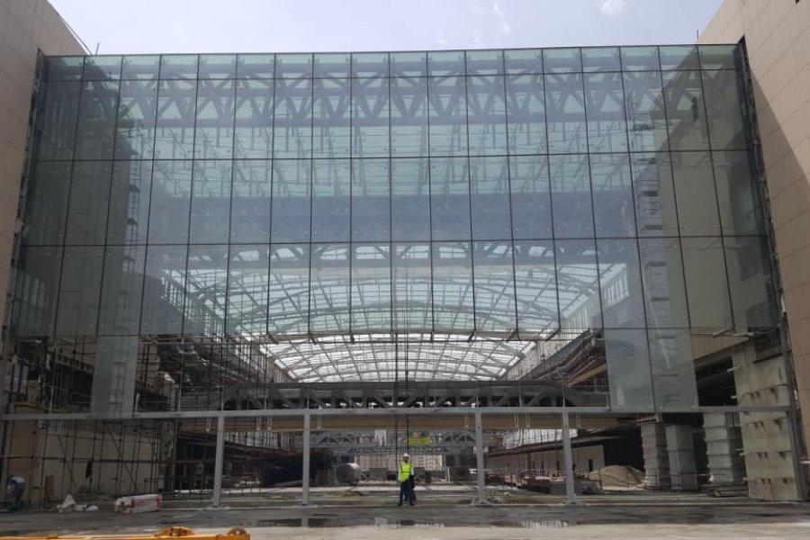 İranMall CABLE TRUSS - PLANER Entrance, 11.500m2 Cephe ve Çatı Montajımız Devam etmektedir...